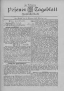 Posener Tageblatt. Handelsblatt 1895.02.16 Jg.34