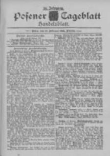 Posener Tageblatt. Handelsblatt 1895.02.19 Jg.34