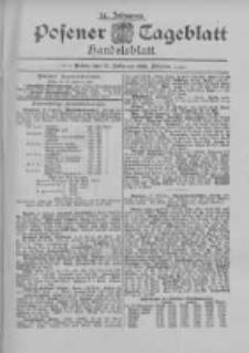 Posener Tageblatt. Handelsblatt 1895.02.21 Jg.34