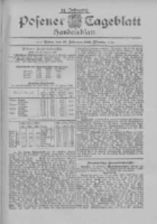 Posener Tageblatt. Handelsblatt 1895.02.22 Jg.34