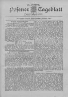 Posener Tageblatt. Handelsblatt 1895.02.23 Jg.34