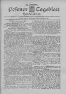 Posener Tageblatt. Handelsblatt 1895.02.26 Jg.34