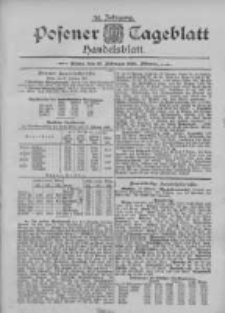 Posener Tageblatt. Handelsblatt 1895.02.27 Jg.34