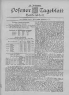 Posener Tageblatt. Handelsblatt 1895.03.01 Jg.34