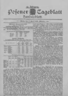 Posener Tageblatt. Handelsblatt 1895.04.08 Jg.34