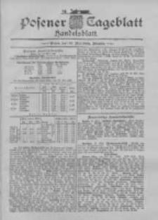 Posener Tageblatt. Handelsblatt 1895.05.22 Jg.34