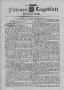 Posener Tageblatt. Handelsblatt 1895.05.28 Jg.34