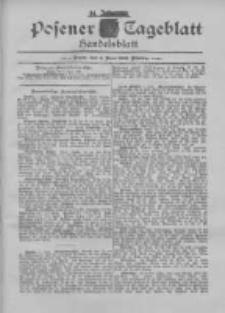 Posener Tageblatt. Handelsblatt 1895.06.04 Jg.34