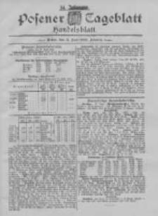Posener Tageblatt. Handelsblatt 1895.06.17 Jg.34