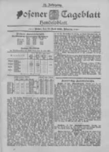 Posener Tageblatt. Handelsblatt 1895.07.15 Jg.34