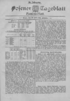 Posener Tageblatt. Handelsblatt 1895.07.22 Jg.34