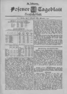 Posener Tageblatt. Handelsblatt 1895.08.09 Jg.34
