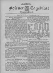 Posener Tageblatt. Handelsblatt 1895.08.10 Jg.34