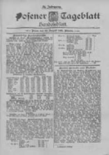 Posener Tageblatt. Handelsblatt 1895.08.22 Jg.34