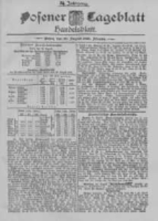 Posener Tageblatt. Handelsblatt 1895.08.26 Jg.34