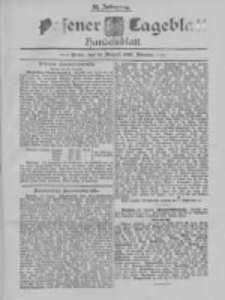 Posener Tageblatt. Handelsblatt 1895.08.31 Jg.34