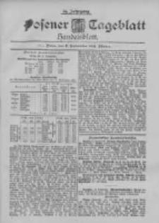 Posener Tageblatt. Handelsblatt 1895.09.11 Jg.34