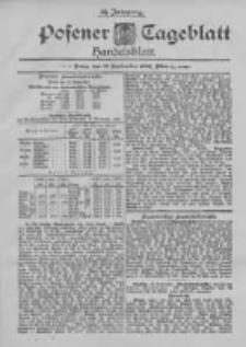 Posener Tageblatt. Handelsblatt 1895.09.13 Jg.34