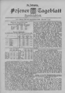 Posener Tageblatt. Handelsblatt 1895.09.23 Jg.34