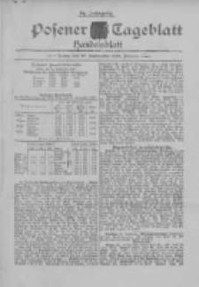Posener Tageblatt. Handelsblatt 1895.09.30 Jg.34