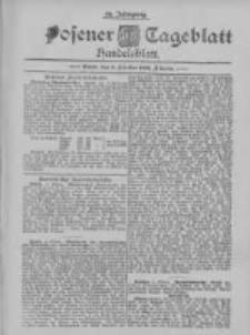 Posener Tageblatt. Handelsblatt 1895.10.05 Jg.34