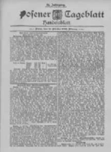 Posener Tageblatt. Handelsblatt 1895.10.12 Jg.34