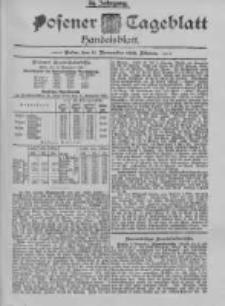 Posener Tageblatt. Handelsblatt 1895.11.11 Jg.34