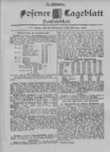 Posener Tageblatt. Handelsblatt 1895.11.14 Jg.34