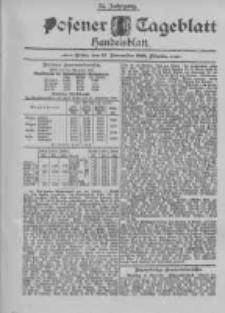 Posener Tageblatt. Handelsblatt 1895.11.15 Jg.34
