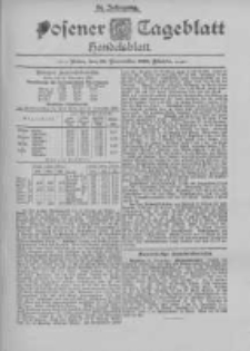 Posener Tageblatt. Handelsblatt 1895.11.22 Jg.34