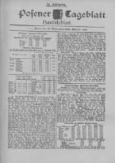Posener Tageblatt. Handelsblatt 1895.11.27 Jg.34
