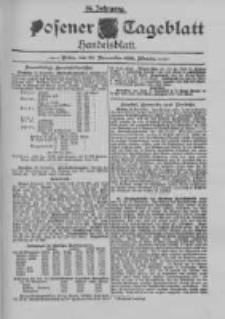 Posener Tageblatt. Handelsblatt 1895.11.28 Jg.34