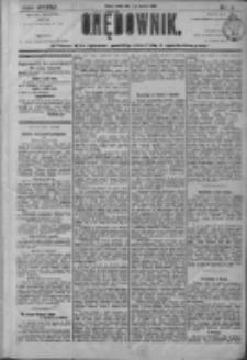 Orędownik: pismo dla spraw politycznych i społecznych 1906.01.03 R.36 Nr1