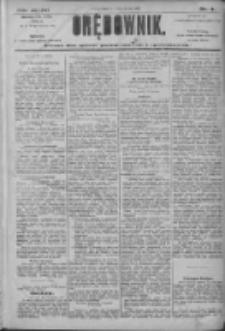 Orędownik: pismo dla spraw politycznych i społecznych 1906.01.05 R.36 Nr3
