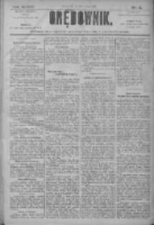Orędownik: pismo dla spraw politycznych i społecznych 1906.01.10 R.36 Nr6