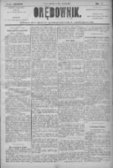 Orędownik: pismo dla spraw politycznych i społecznych 1906.01.11 R.36 Nr7