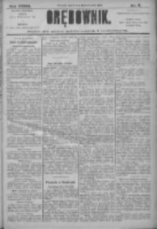 Orędownik: pismo dla spraw politycznych i społecznych 1906.01.13 R.36 Nr9