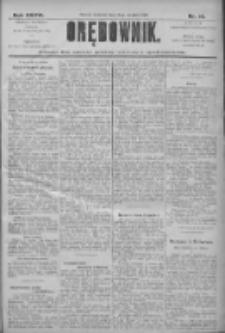 Orędownik: pismo dla spraw politycznych i społecznych 1906.01.14 R.36 Nr10