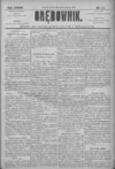 Orędownik: pismo dla spraw politycznych i społecznych 1906.01.16 R.36 Nr11