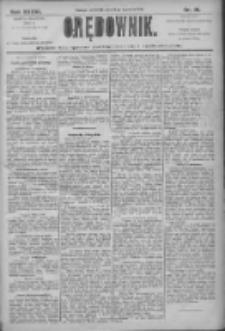 Orędownik: pismo dla spraw politycznych i społecznych 1906.01.18 R.36 Nr13