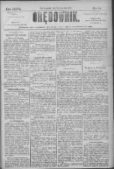 Orędownik: pismo dla spraw politycznych i społecznych 1906.01.19 R.36 Nr14