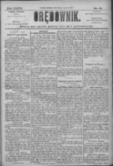 Orędownik: pismo dla spraw politycznych i społecznych 1906.01.21 R.36 Nr16