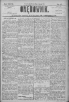 Orędownik: pismo dla spraw politycznych i społecznych 1906.01.23 R.36 Nr17