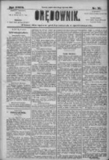 Orędownik: pismo dla spraw politycznych i społecznych 1906.01.26 R.36 Nr20