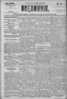 Orędownik: pismo dla spraw politycznych i społecznych 1906.01.30 R.36 Nr23