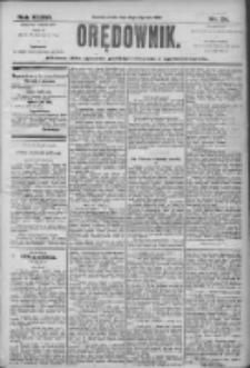 Orędownik: pismo dla spraw politycznych i społecznych 1906.01.31 R.36 Nr24