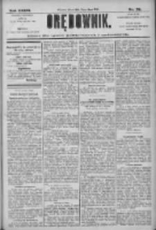 Orędownik: pismo dla spraw politycznych i społecznych 1906.02.02 R.36 Nr26