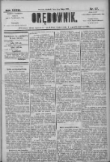 Orędownik: pismo dla spraw politycznych i społecznych 1906.02.04 R.36 Nr27