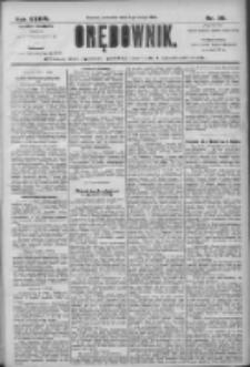 Orędownik: pismo dla spraw politycznych i społecznych 1906.02.08 R.36 Nr30