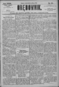 Orędownik: pismo dla spraw politycznych i społecznych 1906.02.13 R.36 Nr34